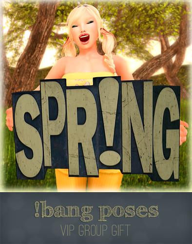 !bang - spring VIP gift