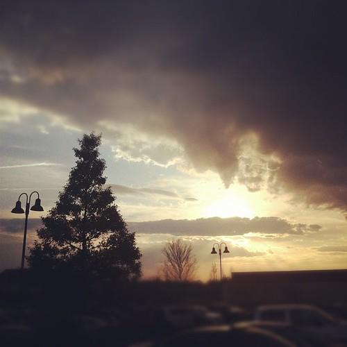 Sunset on St. Patrick's Day