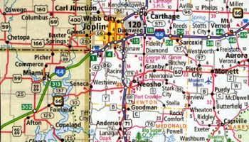 Rand McNally makes apparent Route 66 error in atlases ... on illinois county map, illinois dot construction map, illinois interstate highway map, illinois airports map, illinois tollway map 294, illinois tolls rates map, illinois road atlas, illinois us 66 maps,