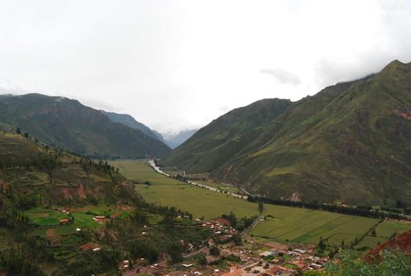 Vistas del Valle Sagrado de los Incas