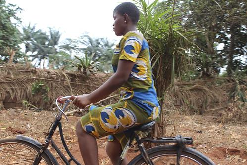 Iheaka Enugu, Nigeria Female Bicyclist by Jujufilms
