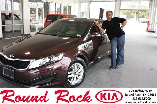 Congratulations to Denora Perry  on your #Kia #Optima purchase from Kelly  Cameron at Round Rock Kia! #NewCar by RoundRockKia