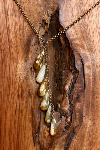 agate teardrops in another light by denise carbonell