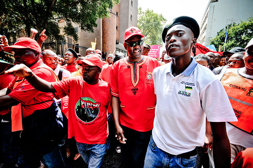 Cosatu: Vavi and Magaqa by S:P:S