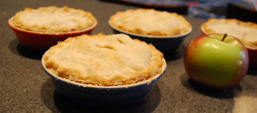 Mini Apple and Strawberry Pies
