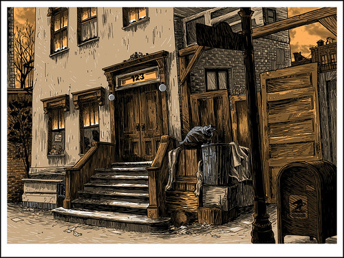 02. Ulica Sezamkowa - kolor