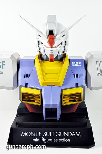 MSG RX-78-2 Bust Type Display Case (Mobile Suit Gundam) (33)