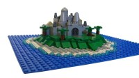 Micro Island Castle : A LEGO creation by Lego Builders ...