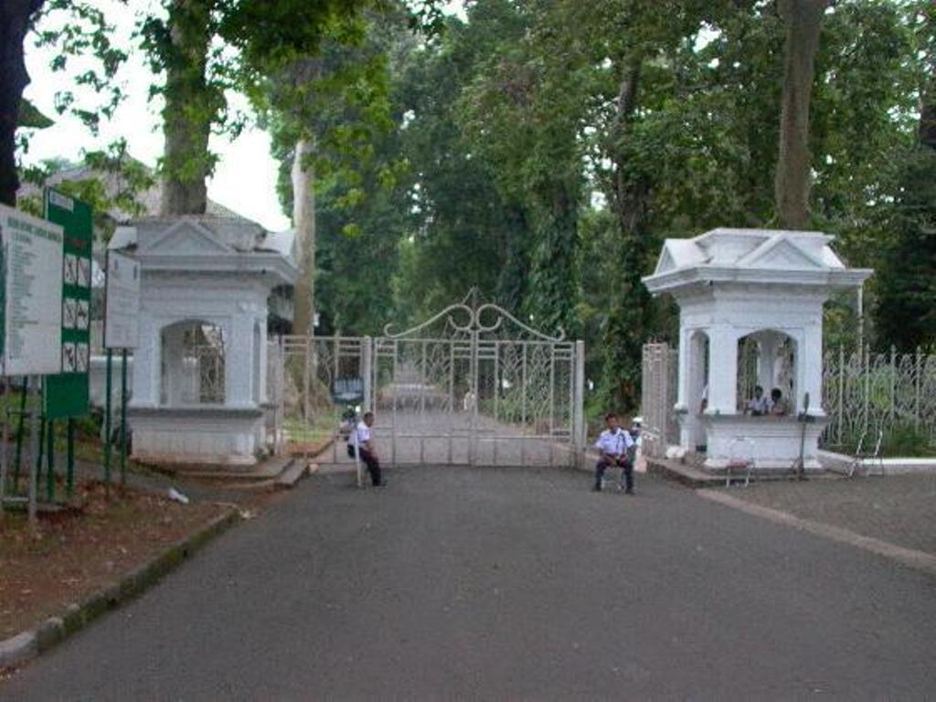 Botanical Garden Entrance-Bogor