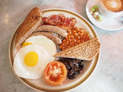 English Breakfast, The Orange Thimble, Eng Hoon Street, Tiong Bahru