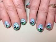 horse nail design