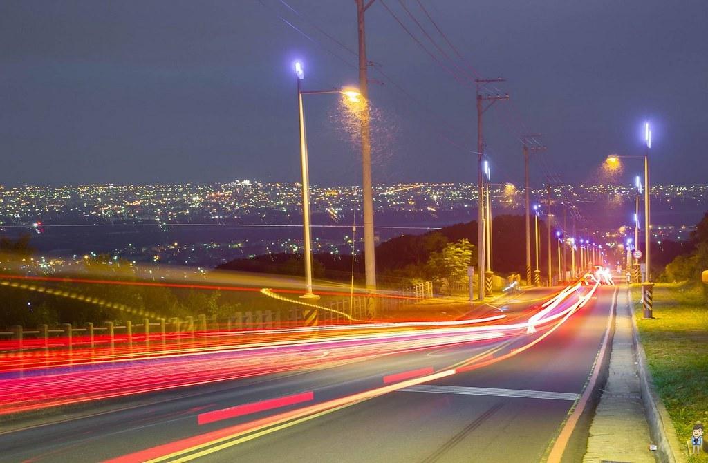 【臺中大肚】大肚藍色公路夜景 @ 富嵃 享旅行 ・ 享攝影 :: 痞客邦