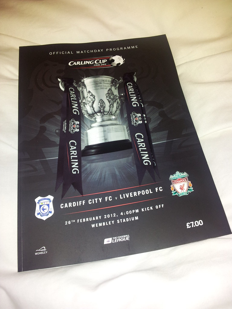 Carling Cup Final programme