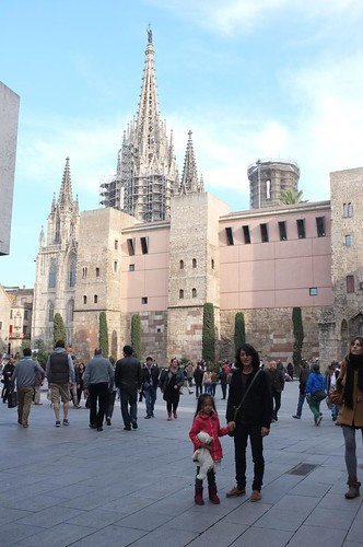the Barcelona Cathedral