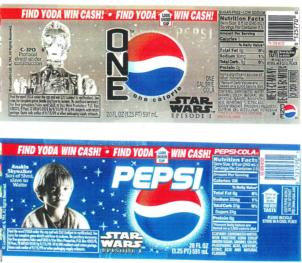 Pepsi and Pepsi One