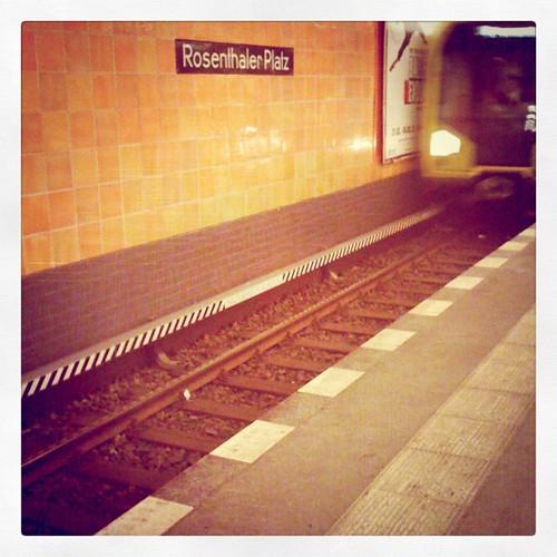 Rosenthaler Platz. // #ubahn