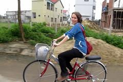 Cute Cyclist