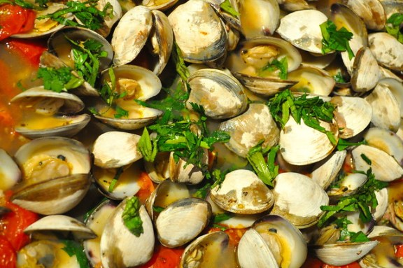 Oven Baked Clams
