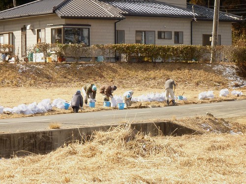 南相馬市で瓦礫片付けボランティア Volunteer at Minamisoma city, Damaged by the Tsunami of Japan Earthquake and Fukushima Daiichi nuclear plant accident