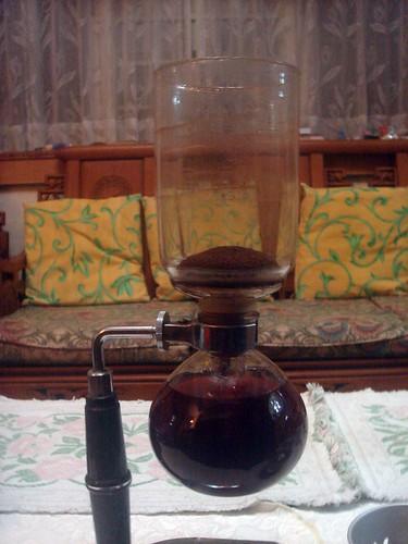 虹吸式咖啡_第一次5