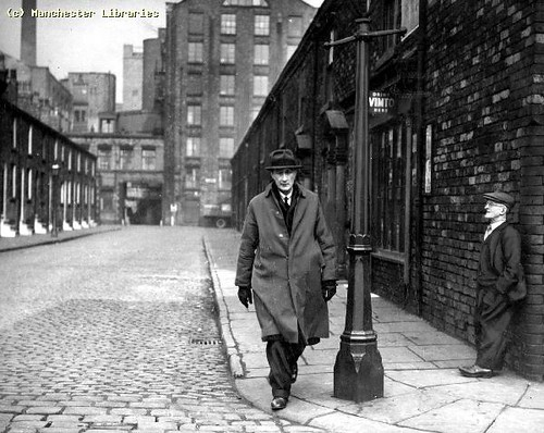 LS Lowry in New Cross, 1968