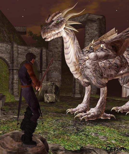 Ser Carson and the Dragon