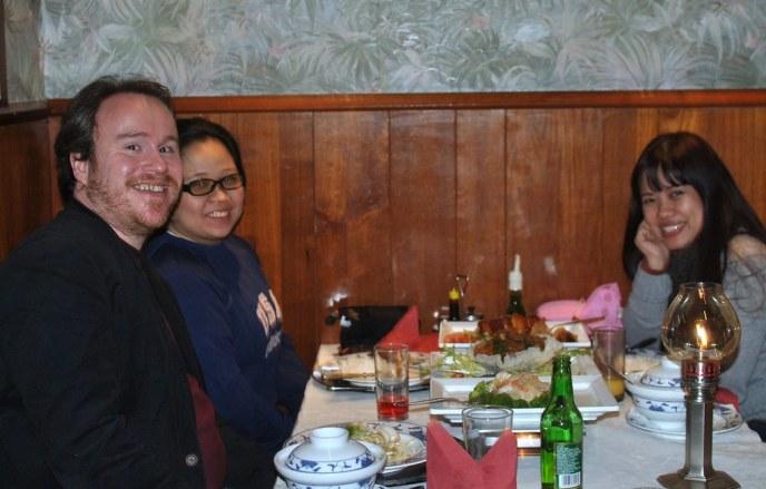 My gracious hosts, the de Beijers.