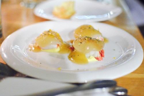 Lobster Salad, Yuzu, Honey