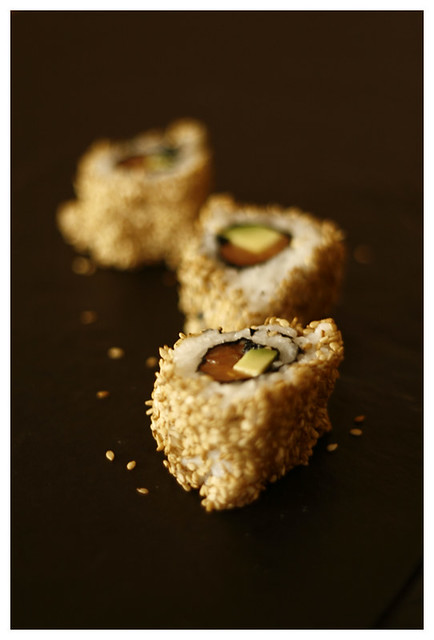 Sushi amb sèsam