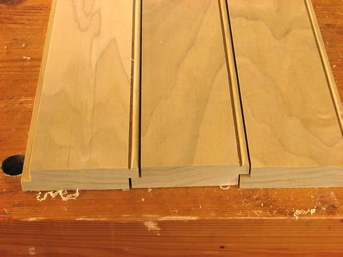 Beaded Bottom Boards