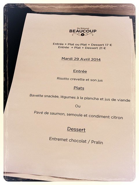Beaucoup bar & restaurant,  Paris