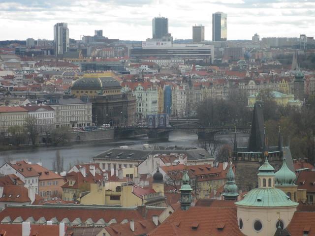 Národní divadlo from the Rosenberg Palace