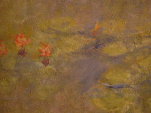 Water-Lilies - Claude Monet (detail)