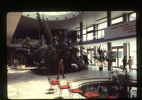 Pioneer's Palace Interior, Moscow, 1969