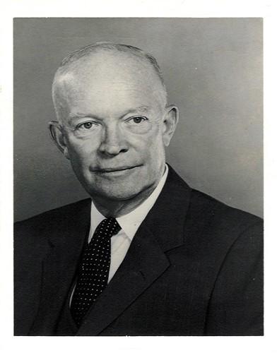 1957 - President Dwight D. Eisenhower