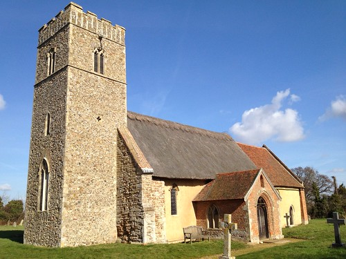 The church of St John the Baptist in Butley