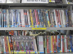 DVDs at South Library