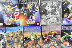 SD Gundam Wing Series Kit List (12)