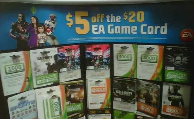 Gamestop 5 Off 20 Ea Cash Cards Simsvip