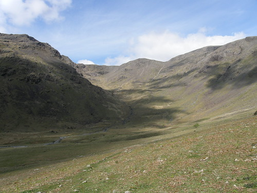Black Comb at the head of Mosedale