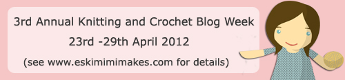knitting and crochet blog week 2012