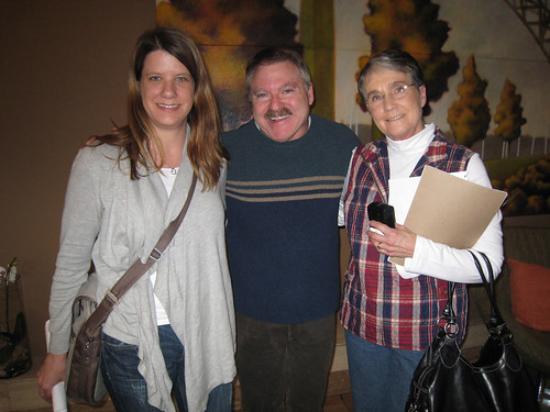 me & mom & James Van Praagh