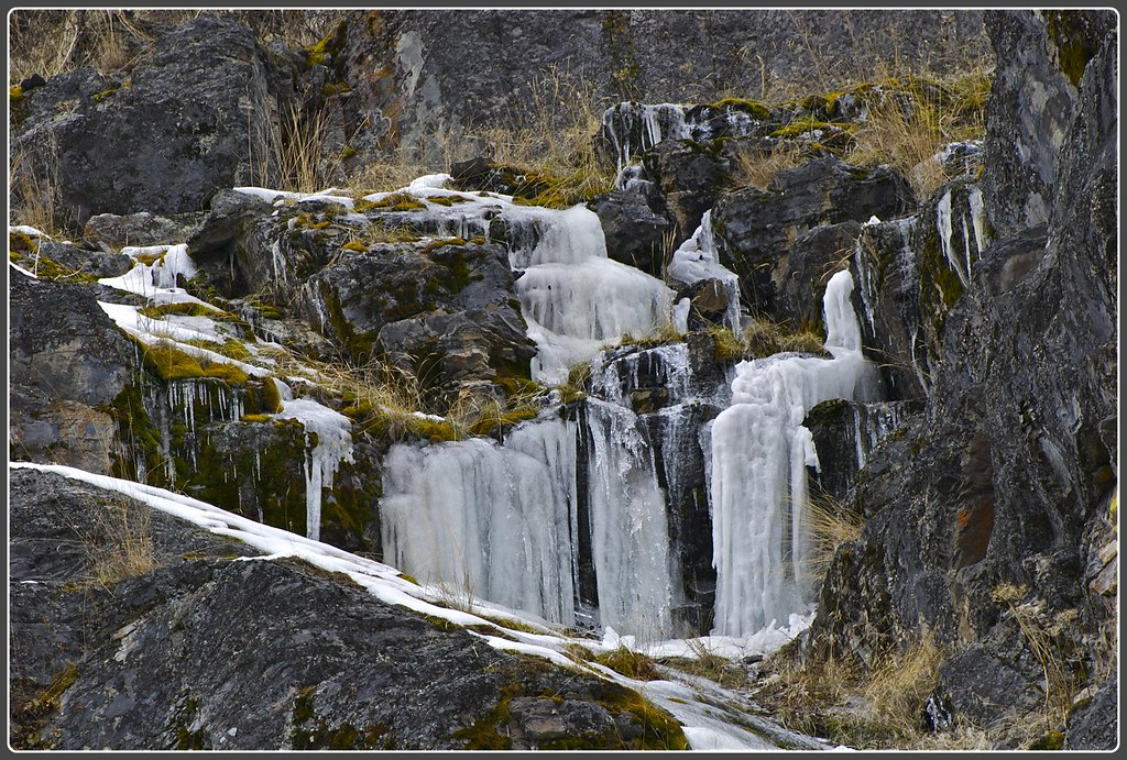 Buffalo Bill Canyon icicles