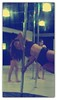 flag, pole, pole dance, pole tricks