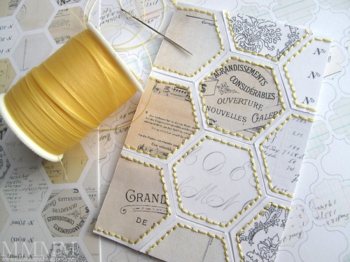 stitched ephemera_hexagon free printables paper mel stampz