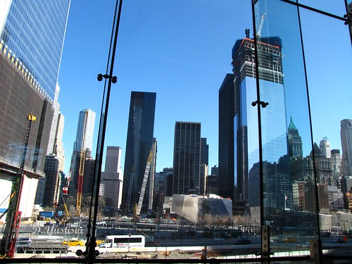 The View from World Financial Center of WTC Site