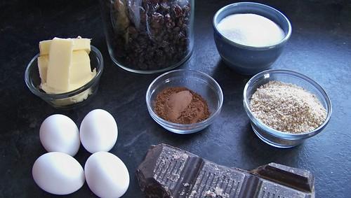 Gluten-Free Raisin Brownies