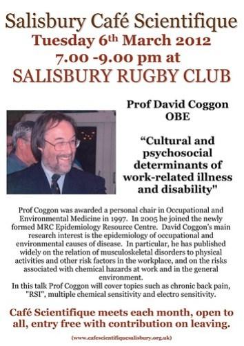 Poster for David Coggan