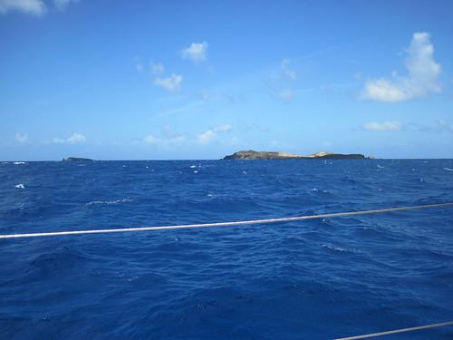 Approaching Culebra after a rough up-wind sail