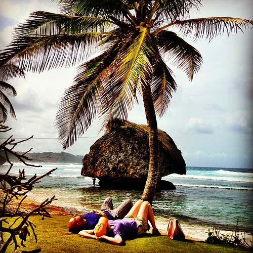 Nap time in Bathsheba